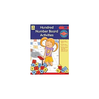 Carson-Dellosa Publishing Hundred Number Board Activities, Grades 2-3 Workbook, Grade 2 - Grade 3 [eBook]