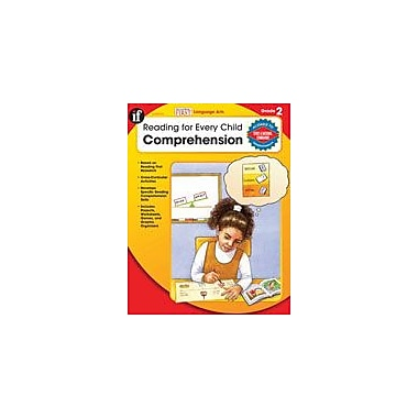 Carson-Dellosa Publishing Reading For Every Child: Comprehension, Grade 2 Workbook By Breitbart, Karen, Grade 2 [eBook]