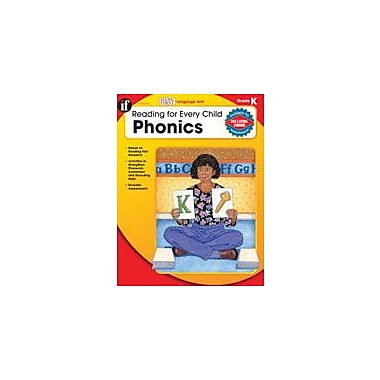 Carson-Dellosa Publishing Reading For Every Child: Phonics, Kindergarten Workbook By Armstrong, Linda, Kindergarten [eBook]
