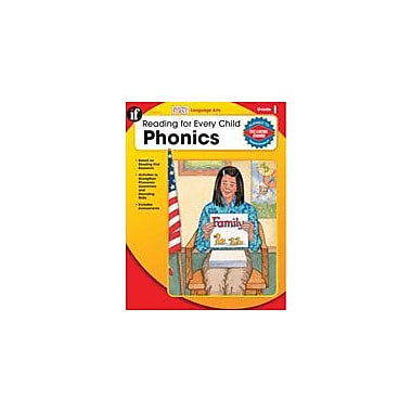 Carson-Dellosa Publishing Reading For Every Child: Phonics, Grade 1 Workbook By Armstrong, Linda, Grade 1 [eBook]