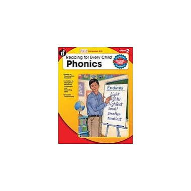 Carson-Dellosa Publishing Reading For Every Child: Phonics, Grade 2 Workbook By Armstrong, Linda, Grade 2 [eBook]