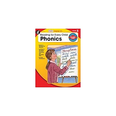 Carson-Dellosa Publishing Reading For Every Child: Phonics, Grade 3 Workbook By Armstrong, Linda, Grade 3 [eBook]