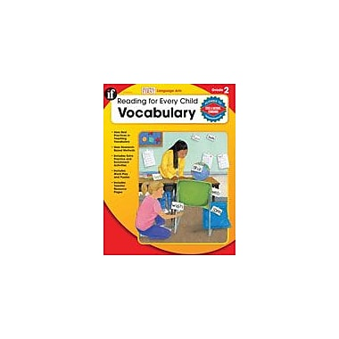 Carson-Dellosa Publishing Reading For Every Child: Vocabulary, Grade 2 Workbook By Evans, Lesli, Grade 2 [eBook]