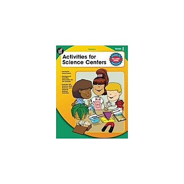 Carson-Dellosa Publishing Activities For Science Centers, Grade 1 Workbook By Pearce, Q. L., Grade 1 [eBook]