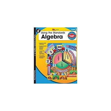 Carson-Dellosa Publishing Using The Standards: Algebra, Grade 2 Workbook By Piddock, Claire, Grade 2 [eBook]