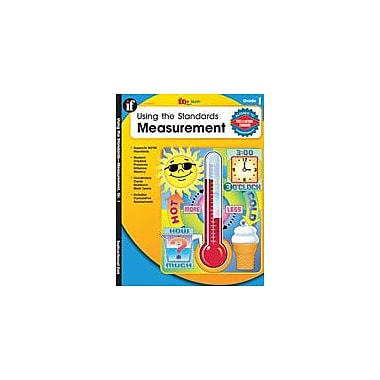 Carson-Dellosa Publishing Using The Standards: Measurement, Grade 1 Workbook By Fensham, Elizabeth, Grade 1 [eBook]