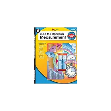 Carson-Dellosa Publishing Using The Standards: Measurement, Grade 3 Workbook By Owen, M. J., Grade 3 [eBook]