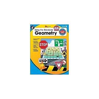 Carson-Dellosa Publishing Using The Standards Geometry, Grade 4 Workbook By Mathqueue, Grade 4 [eBook]