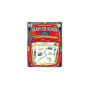Carson-Dellosa Publishing Ready For School, Grades Pk - 1 Workbook, Preschool - Grade 1 [eBook]