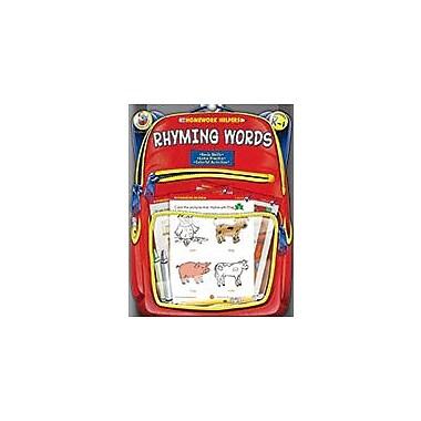 Carson-Dellosa Publishing Rhyming Words, Grades Pk - 1 Workbook, Preschool - Grade 1 [eBook]