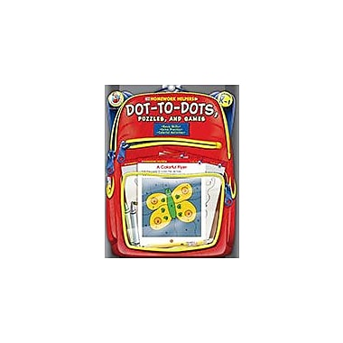 Carson-Dellosa Publishing Dot-To-Dot, Puzzles, And Games, Grades Pk - 1 Workbook, Preschool - Grade 1 [eBook]