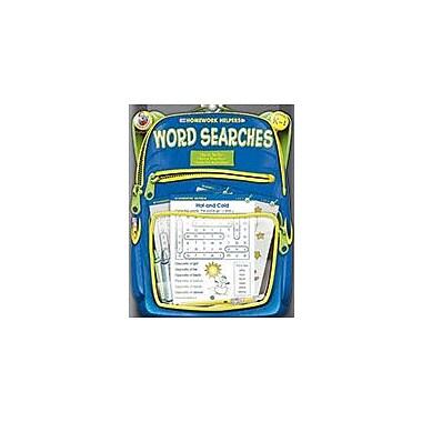 Carson-Dellosa Publishing Word Searches, Grades K - 1 Workbook, Kindergarten - Grade 1 [eBook]