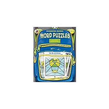 Carson-Dellosa Publishing Word Puzzles, Grades K - 1 Workbook, Kindergarten - Grade 1 [eBook]