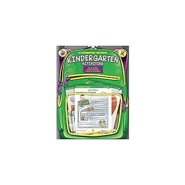 Carson-Dellosa Publishing Kindergarten Activities Homework Helper Workbook, Kindergarten [eBook]