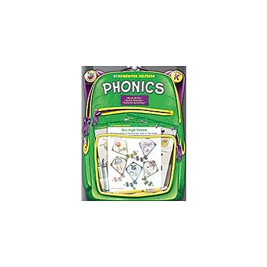 Carson-Dellosa Publishing Phonics, Grade K Workbook, Kindergarten [eBook]