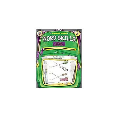 Carson-Dellosa Publishing Word Skills, Grade K Workbook, Kindergarten [eBook]