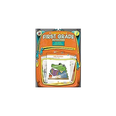 Carson-Dellosa Publishing First Grade Activities Homework Helper, Grade 1 Workbook [eBook]