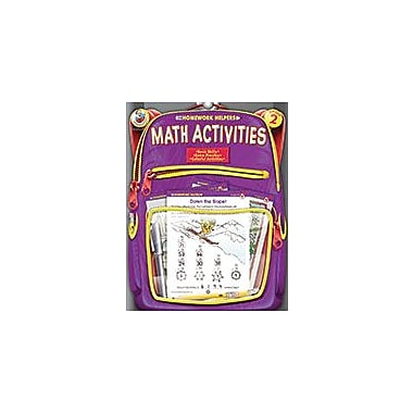 Carson-Dellosa Publishing Math Activities, Grade 2 Workbook [eBook]
