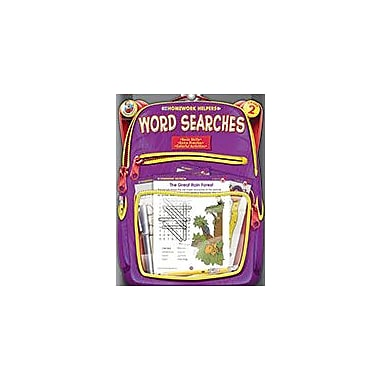 Carson-Dellosa Publishing Word Searches, Grade 2 Workbook [eBook]
