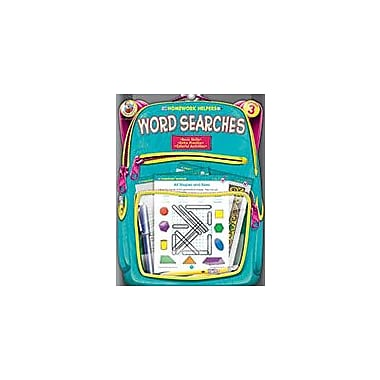 Carson-Dellosa Publishing Word Searches, Grade 3 Workbook [eBook]
