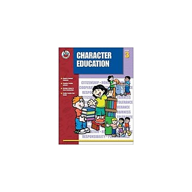 Carson-Dellosa Publishing Character Education, Grade 3 Workbook [eBook]
