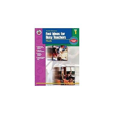 Carson-Dellosa Publishing Fast Ideas For Busy Teachers: Math, Grade 1 Workbook By Shiotsu, Vicky, Grade 1 [eBook]