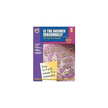Carson-Dellosa Publishing Is The Answer Reasonable?, Grade 4 Workbook [eBook]