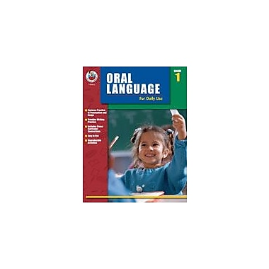 Carson-Dellosa Publishing Oral Language For Daily Use, Grade 1 Workbook By Alsop, Tom; Terek, Roslyn, Grade 1 [eBook]