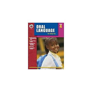 Carson-Dellosa Publishing Oral Language For Daily Use, Grade 4 Workbook By Alsop, Tom; Terek, Roslyn, Grade 4 [eBook]