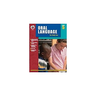 Carson-Dellosa Publishing Oral Language For Daily Use, Grade 5 Workbook By Alsop, Tom; Terek, Roslyn, Grade 5 [eBook]
