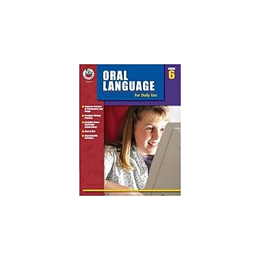 Carson-Dellosa Publishing Oral Language For Daily Use, Grade 6 Workbook By Alsop, Tom; Terek, Roslyn, Grade 6 [eBook]