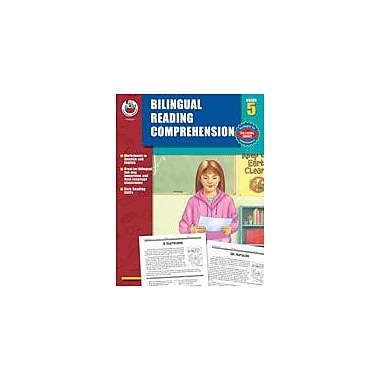 Carson-Dellosa Publishing Bilingual Reading Comprehension, Grade 5 Workbook [eBook]