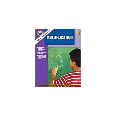 Carson-Dellosa Publishing Multiplication Workbook, Grade 3 - Grade 4 [eBook]