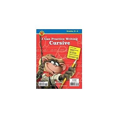 Carson-Dellosa Publishing I Can Practice Writing Cursive Workbook By Brighter Child, Grade 2 - Grade 4 [eBook]