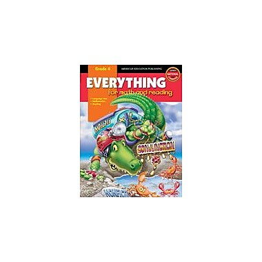 Carson-Dellosa Publishing Everything For Math And Reading Workbook, Grade 4 [eBook]