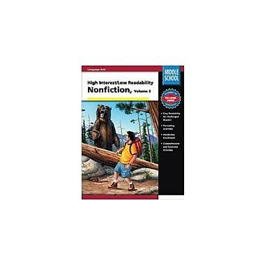 Carson-Dellosa Publishing High Interest/Low Readability Non-Fiction (Volume 2) Workbook, Grade 6 - Grade 8 [eBook]