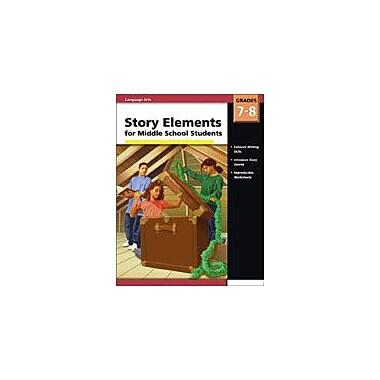 Carson-Dellosa Publishing Story Elements Middle School Workbook, Grade 7 - Grade 8 [eBook]