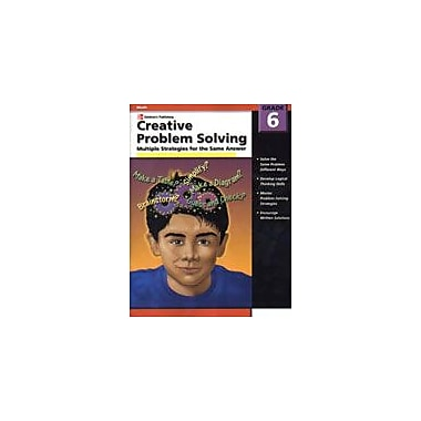 Carson-Dellosa Publishing Creative Problem Solving, Grade 6 Workbook [eBook]