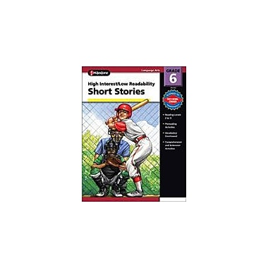 Carson-Dellosa Publishing High Interest/Low Readability Short Stories Workbook By Fisher, Ann, Grade 6 [eBook]