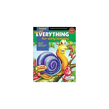 Carson-Dellosa Publishing More Everything For Early Learning, Grade PK Workbook, Preschool [eBook]