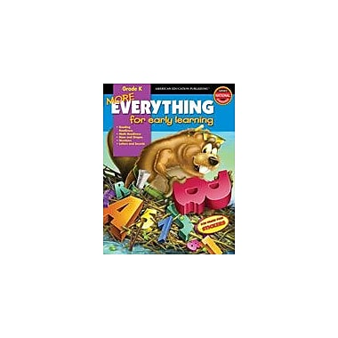 Carson-Dellosa Publishing More Everything For Early Learning, Grade K Workbook, Kindergarten [eBook]