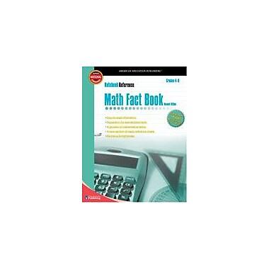 Carson-Dellosa Publishing Math Fact Book Workbook, Grade 4 - Grade 8 [eBook]