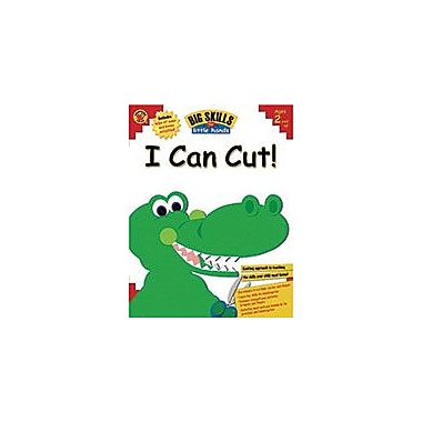 Carson-Dellosa Publishing I Can Cut!, Grades Kindergarten And Under Workbook, Preschool - Kindergarten [eBook]