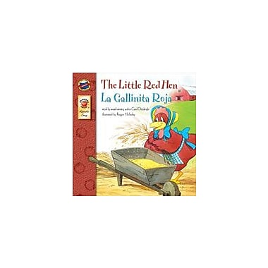 Carson-Dellosa Publishing The Little Red Hen (English/Spanish) Workbook By Ottolenghi, Carol, Preschool - Grade 3 [eBook]