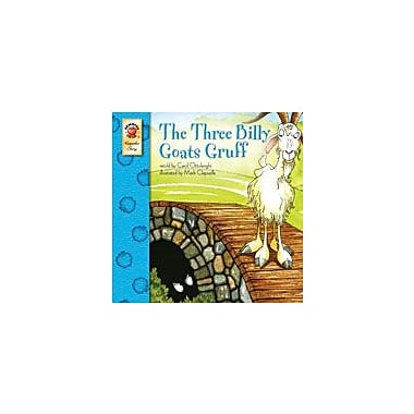 Carson-Dellosa Publishing The Three Billy Goats Gruff Workbook By Ottolenghi, Carol, Preschool - Grade 3 [eBook]