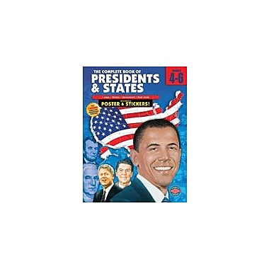 Carson-Dellosa Publishing The Complete Book Of Presidents And States Workbook, Grade 4 - Grade 6 [eBook]