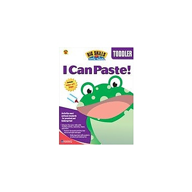 Carson-Dellosa Publishing I Can Paste Workbook By Brighter Child, Preschool [eBook]