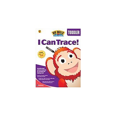 Carson-Dellosa Publishing I Can Trace Workbook By Brighter Child, Preschool [eBook]