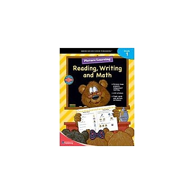 Carson-Dellosa Publishing Picture Learning Reading, Writing, And Math For Grade 1 Workbook [eBook]