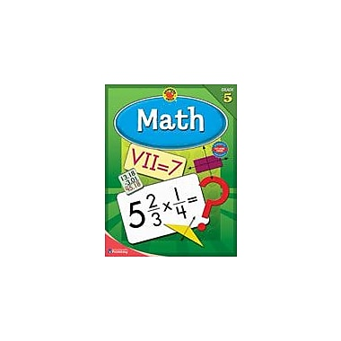 Carson-Dellosa Publishing Brigther Child Math, Grade 5 Workbook By Brighter Child, Grade 5 [eBook]